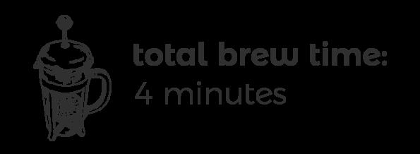 French Press Brew Time