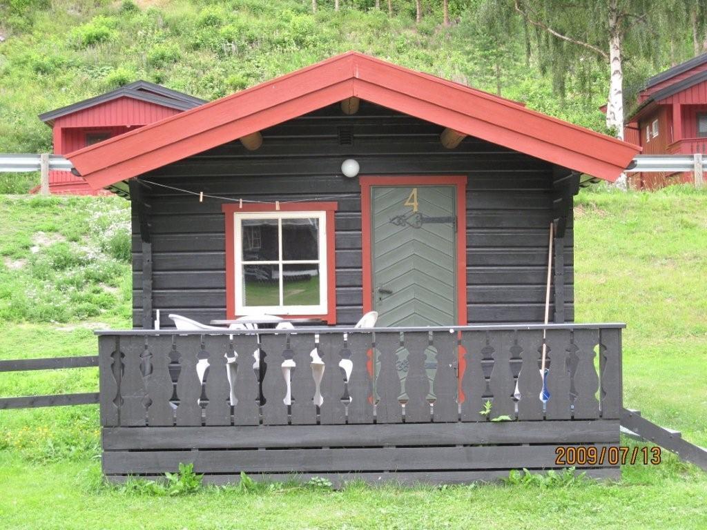 Hytte nummer fire har to rom og koster kr 600 per døgn.