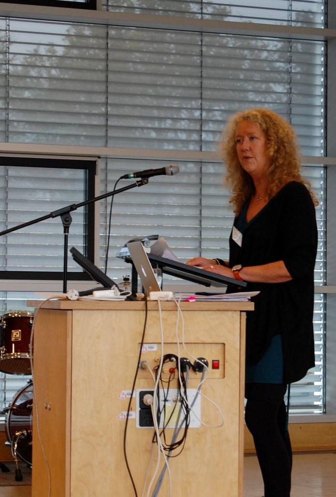 Eva Georgii-Hemming's keynote
