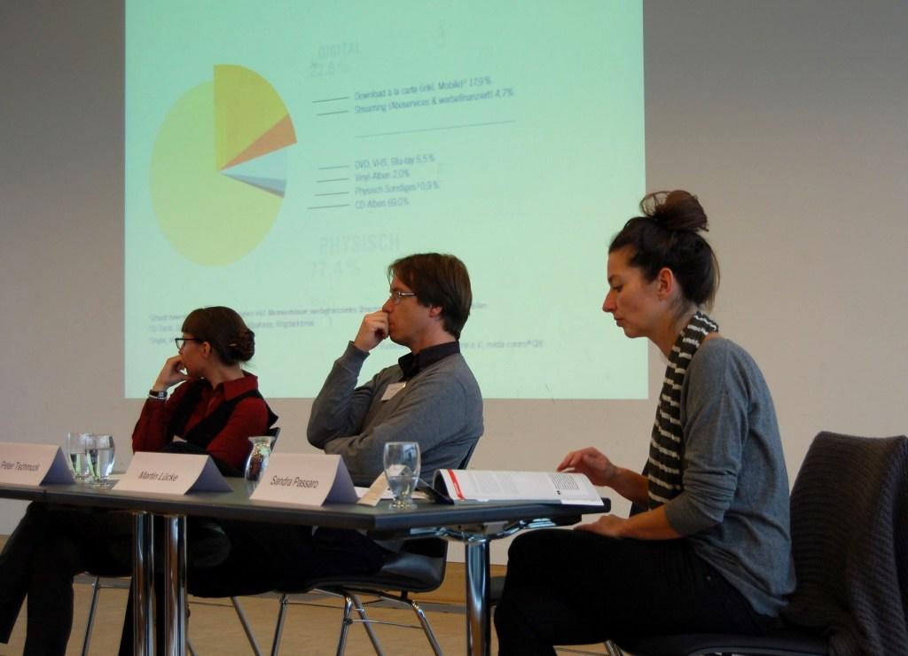 Panel with Sonja Beran, Peter Tschmuck and Sandra Passaro
