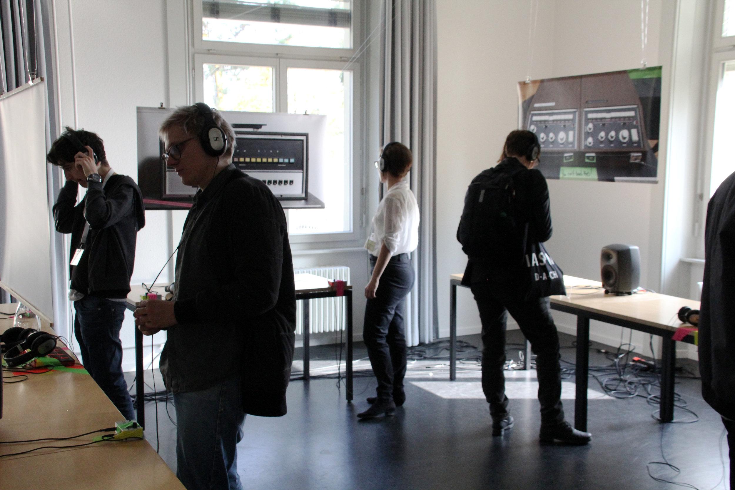 "Exploring Installation  ""Arkestrated Rhythmachine Komplexities  – Travelling Drum Machines"""
