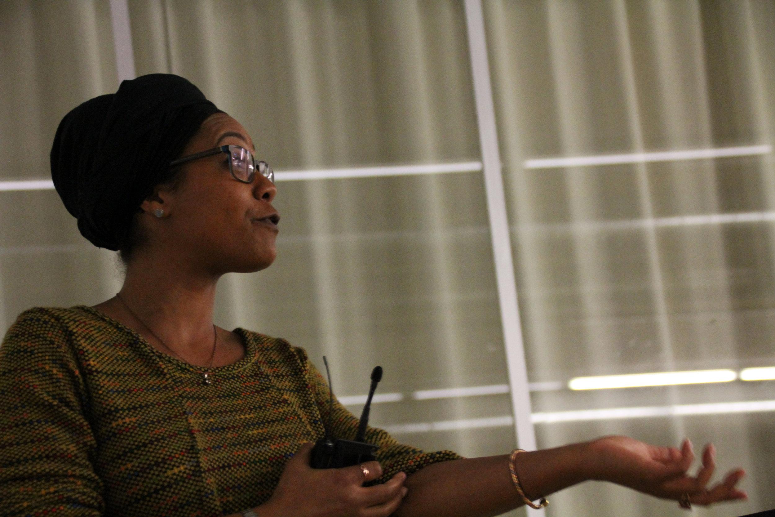Keynote by Jenny Fatou Mbaye (London)