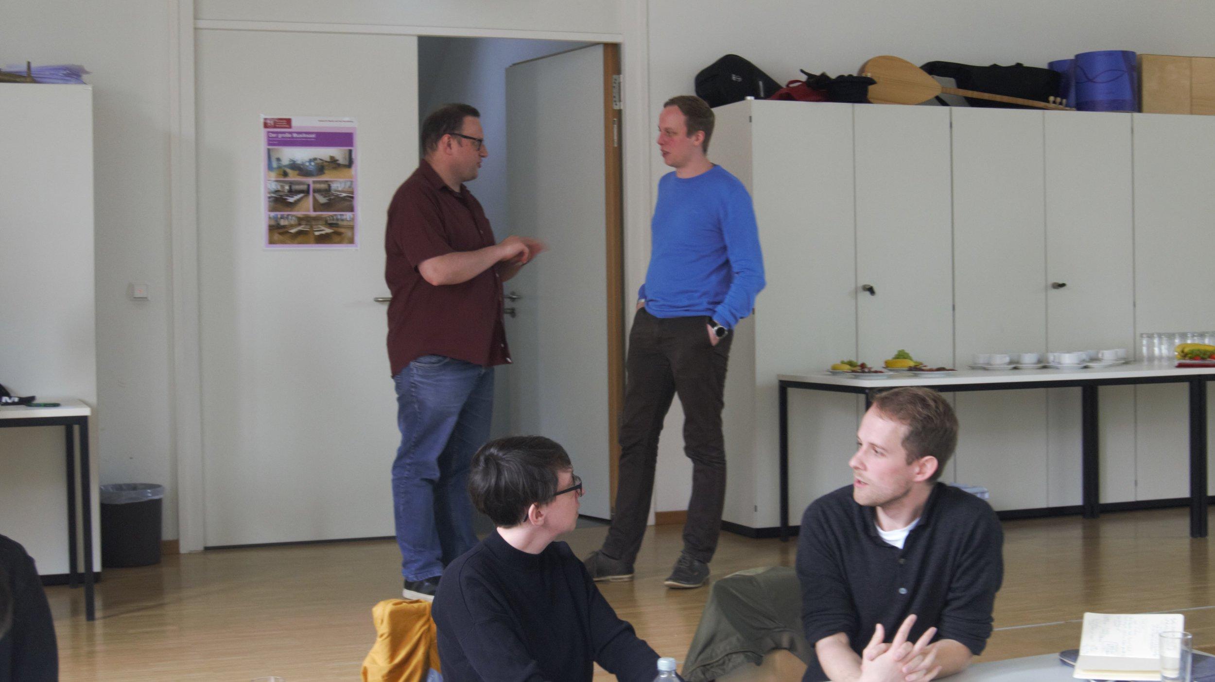 CMP Braunschweig 17.05.2019 - Pausengespräch