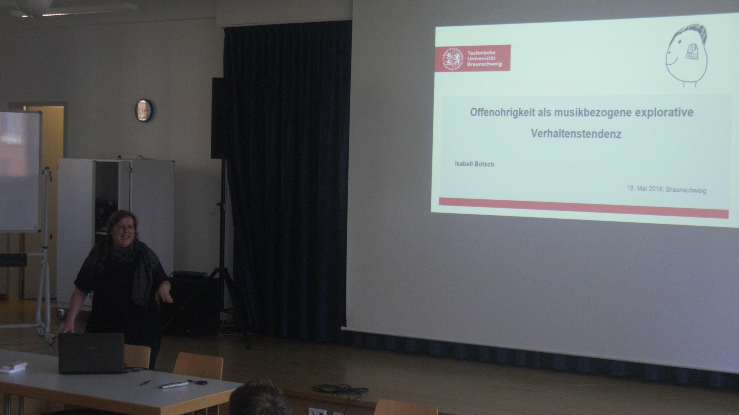 CMP Braunschweig 18.05.2019 - Isabell Böttcher (TU Braunschweig)