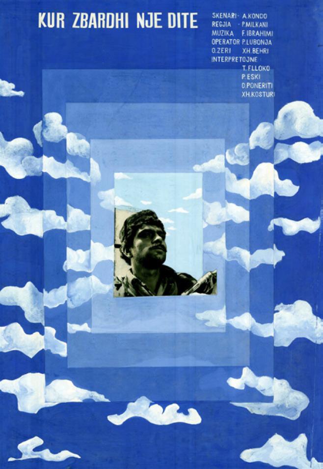 Kur zbardhi një ditë/Once at Dawn (1971) designed by Mariana Eski