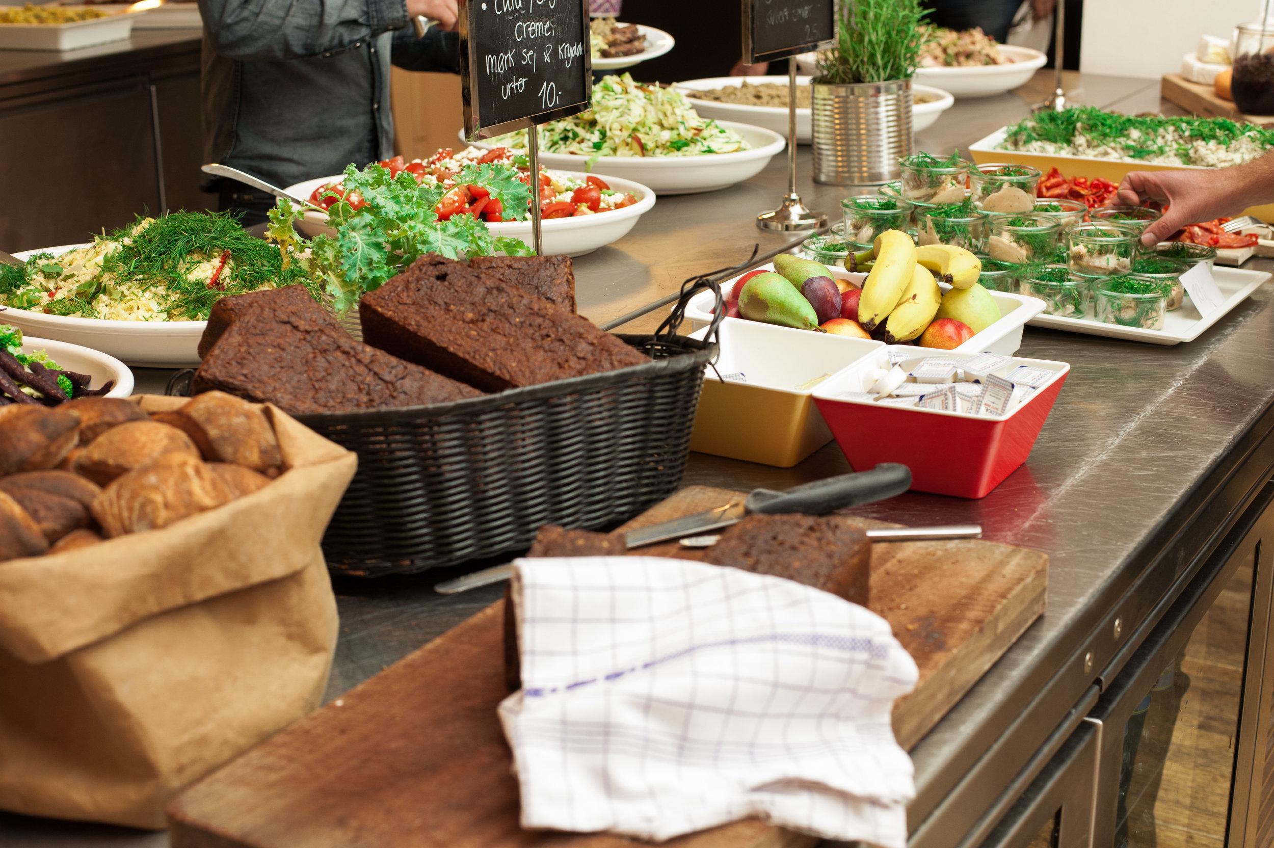 Der serveres en sund og lækker frokost alle 3 kursusdage.