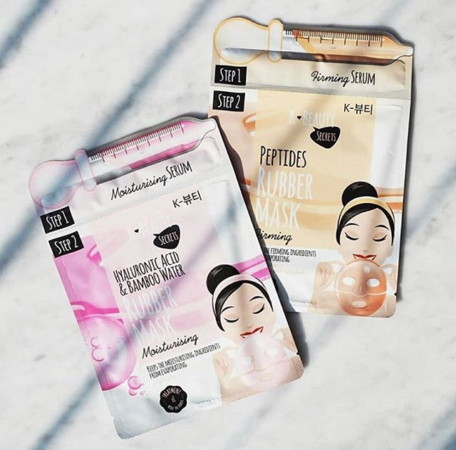 Head over to @vita_no for a chance to win our new two-step rubber face masks💘✨🦄