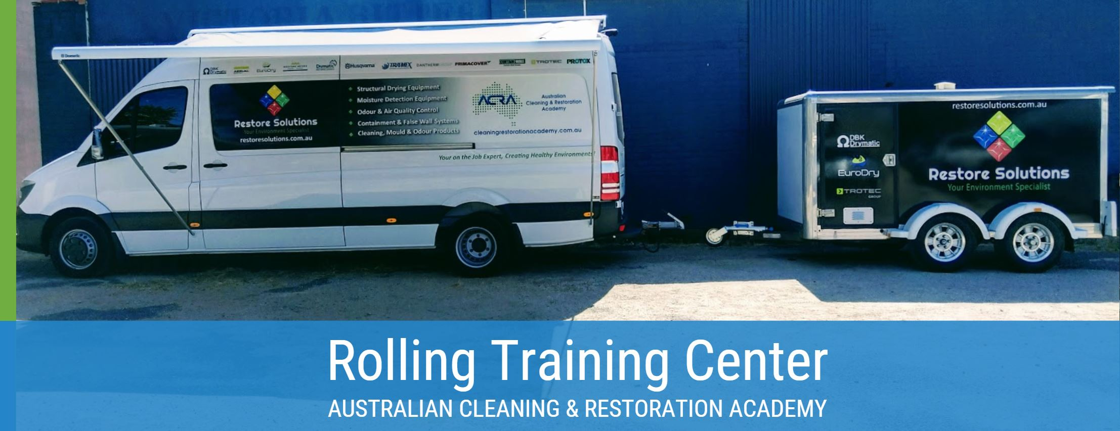 ACRA van - We teach at your place Australian Cleaning and Restoration Academy.JPG