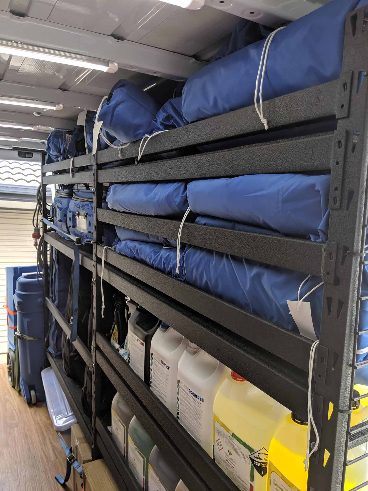 Drymatic mats