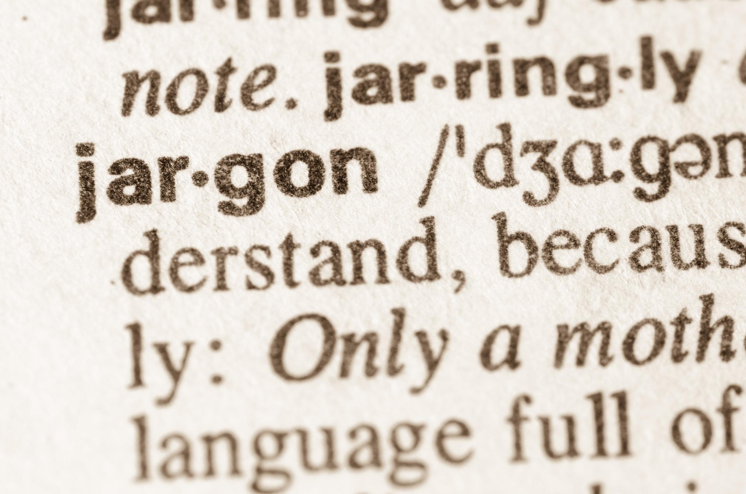 Jargon Buster -