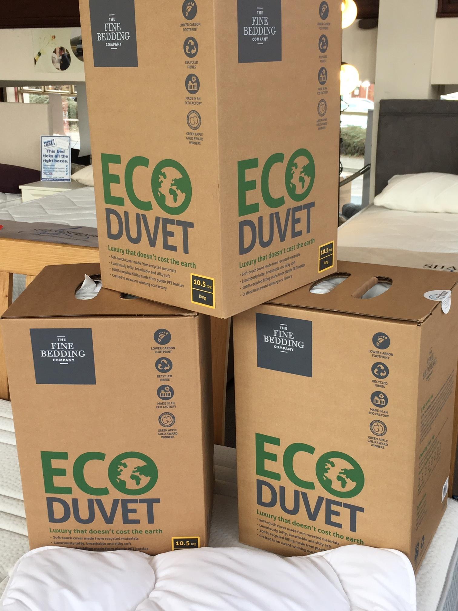 Our new Eco Duvet range