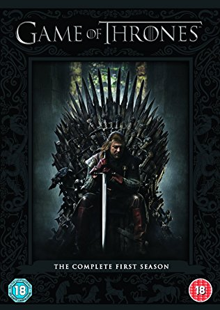 Game of Thrones DVD boxset cover