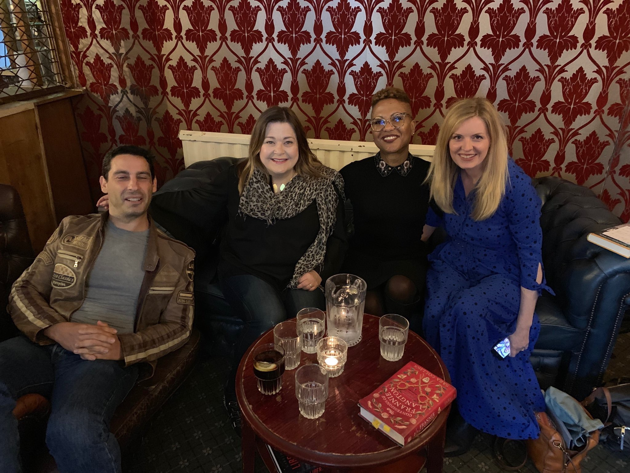 Gareth Rubin, Harriet Tyce, Sara Collins and Clare McGlasson