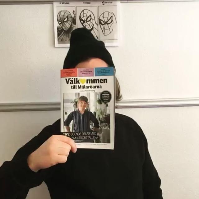 Kolla här! En guide för alla nyinflyttade på Mälaröarna, färsk från tryckeriet. Framtagen av Storymark och Mälarö Tidning.