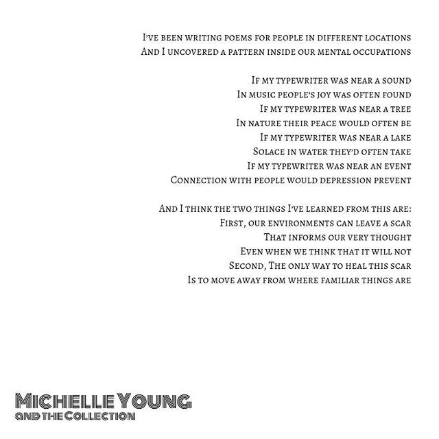 MENTAL OCCUPATIONS 🧠 (by Michelle Young)  #losangeles #michelleyoungandthecollection . . . . . . . . #poetryporn #poetryofinstagram #poetrycommunity #poetryisnotdead  #poetsofig #poetsociety #poetryflow #poemoftheday #poemsofig #writersofinstagram #wordswithkings #wordswithqueens #bymepoetry #poetryphile #quoteoftheday #wordporn #writersofig #prosepoetry #writerscommunity