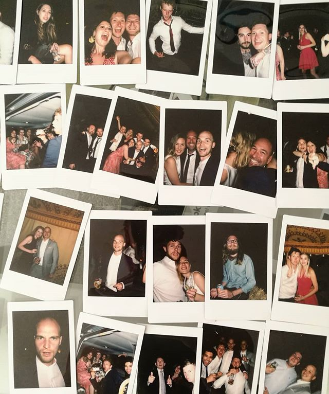 What a beautiful bunch  Many thanks to @jonaedges for photos of the best night  #weddingpics #polaroids #thebest