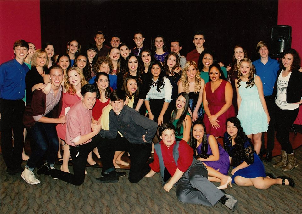 Performing with the Pros with Eden Espinosa: OCSA Winter 2014