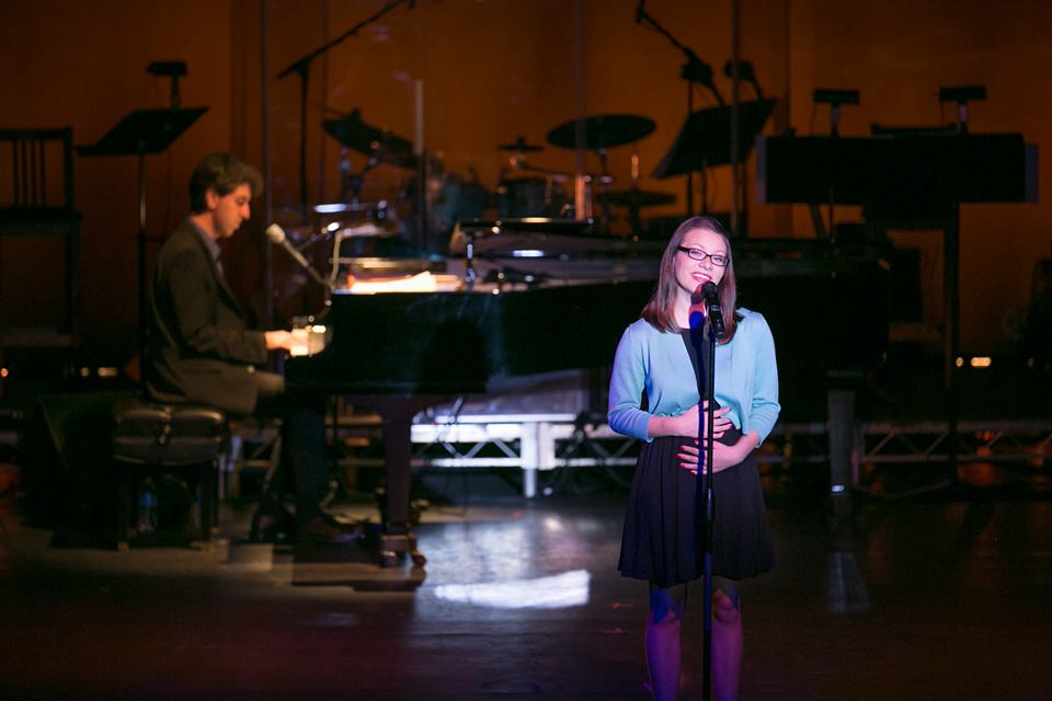 Performing with the Pros  with Jason Robert Brown: OCSA Winter 2013