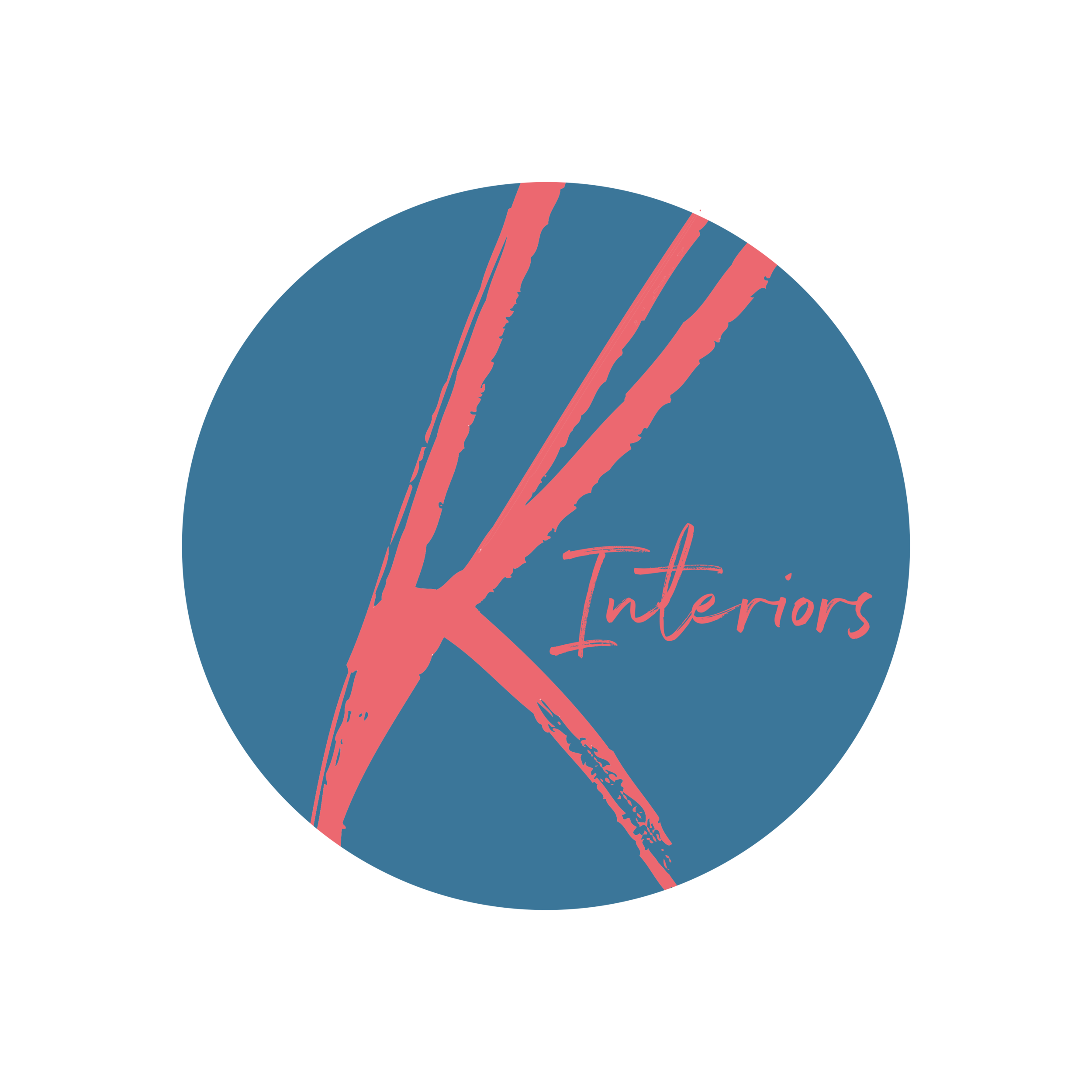 KInteriors_circle logo_coral on dark blue_RGB.png