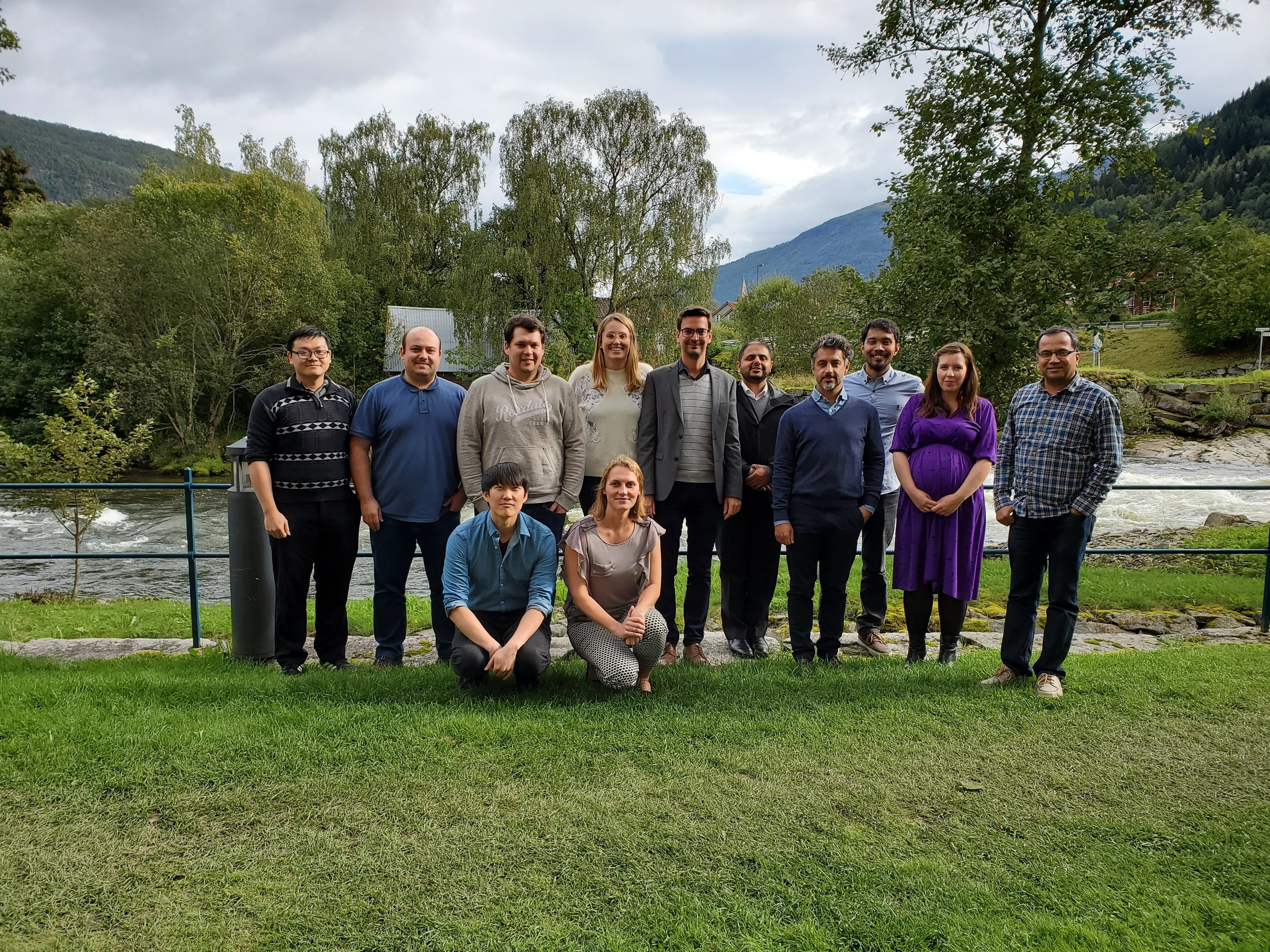 The LeMO team in Sogndal