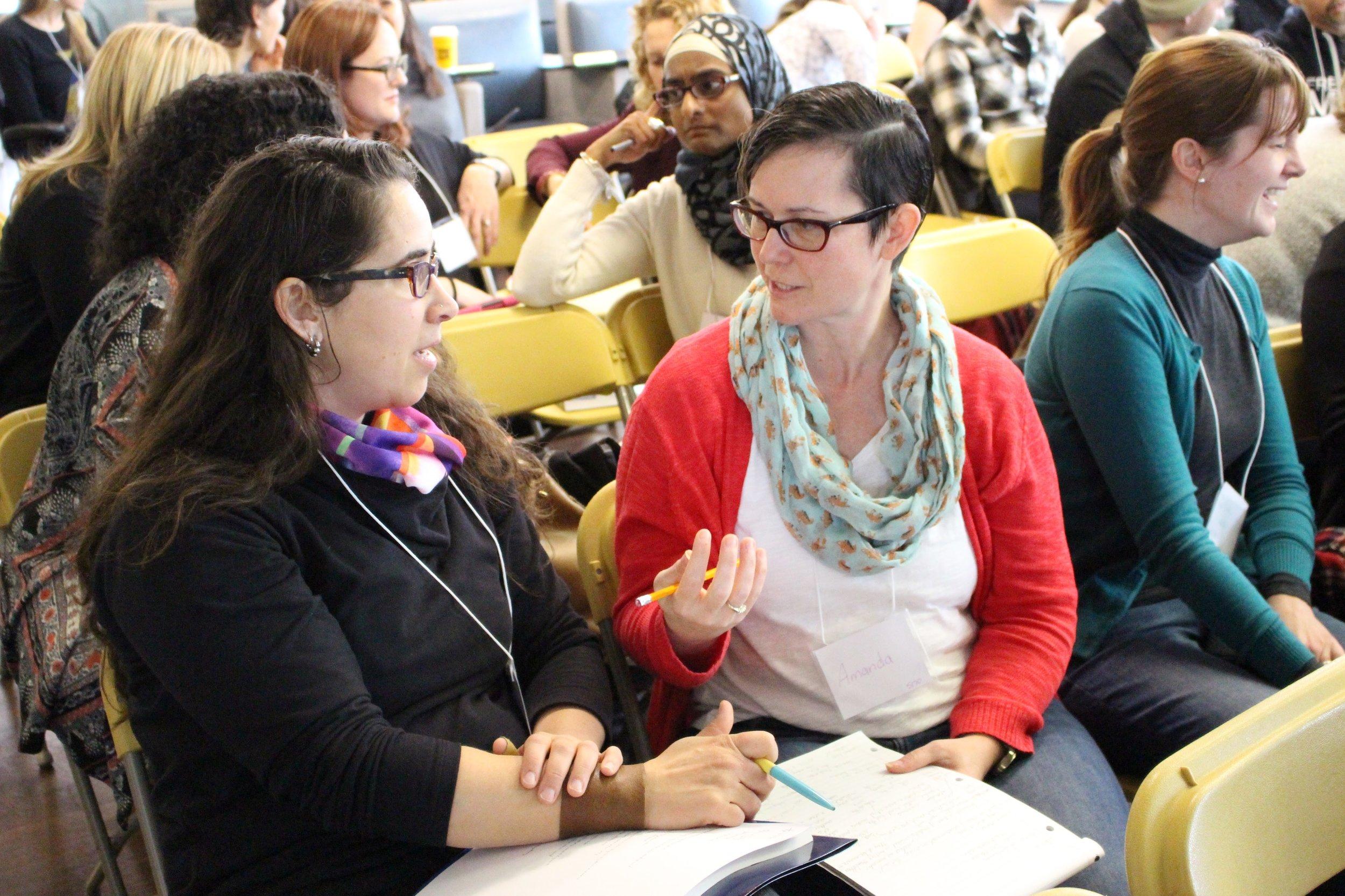Educators at the 2017 Spring Institute