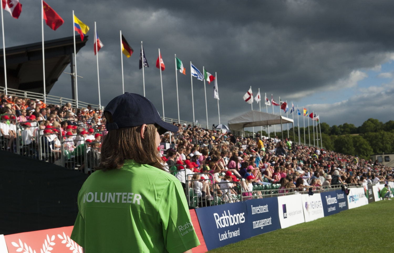 England Lacrosse volunteer
