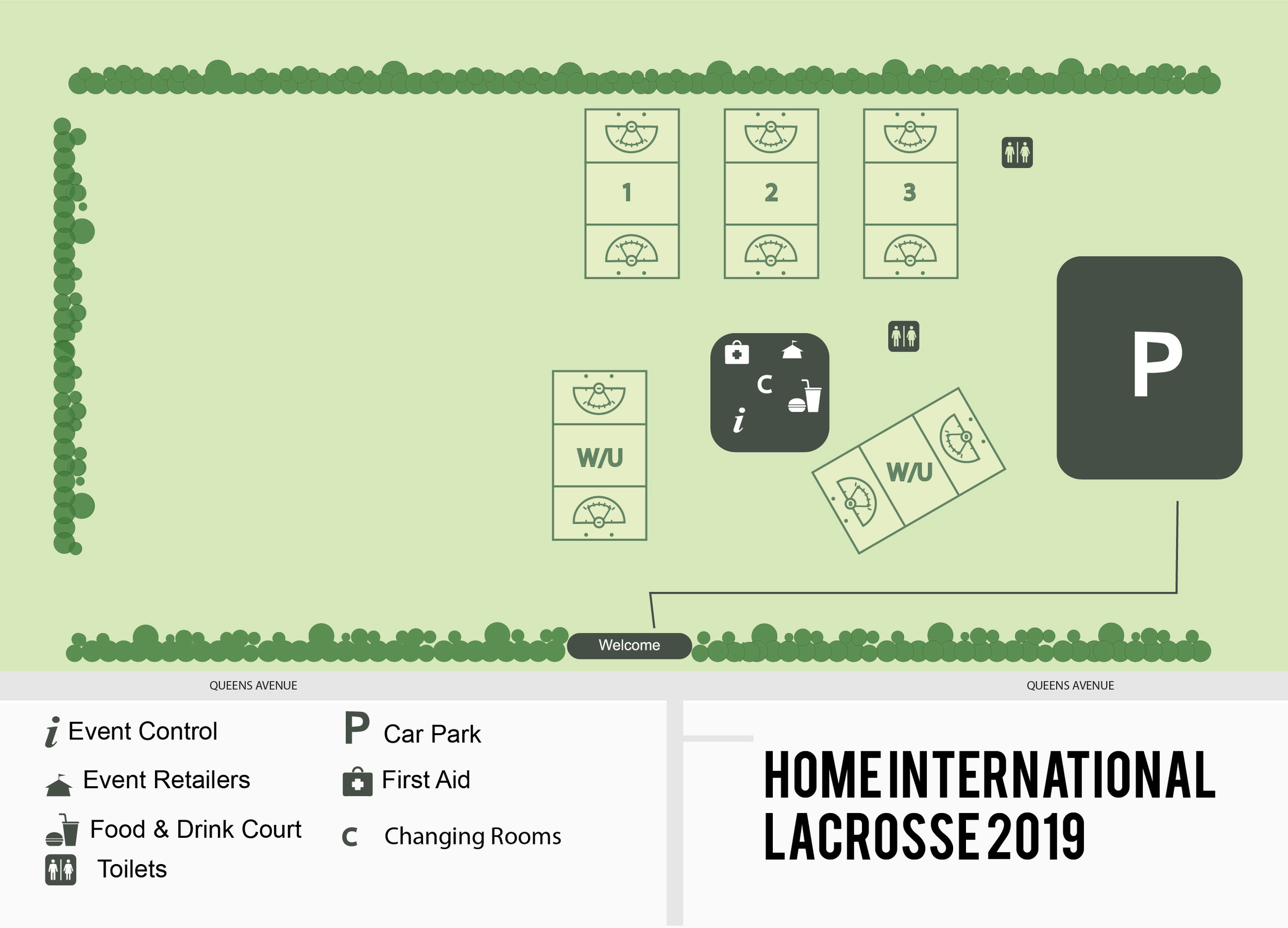 Site Map - Lacrosse Home Internationals 2019