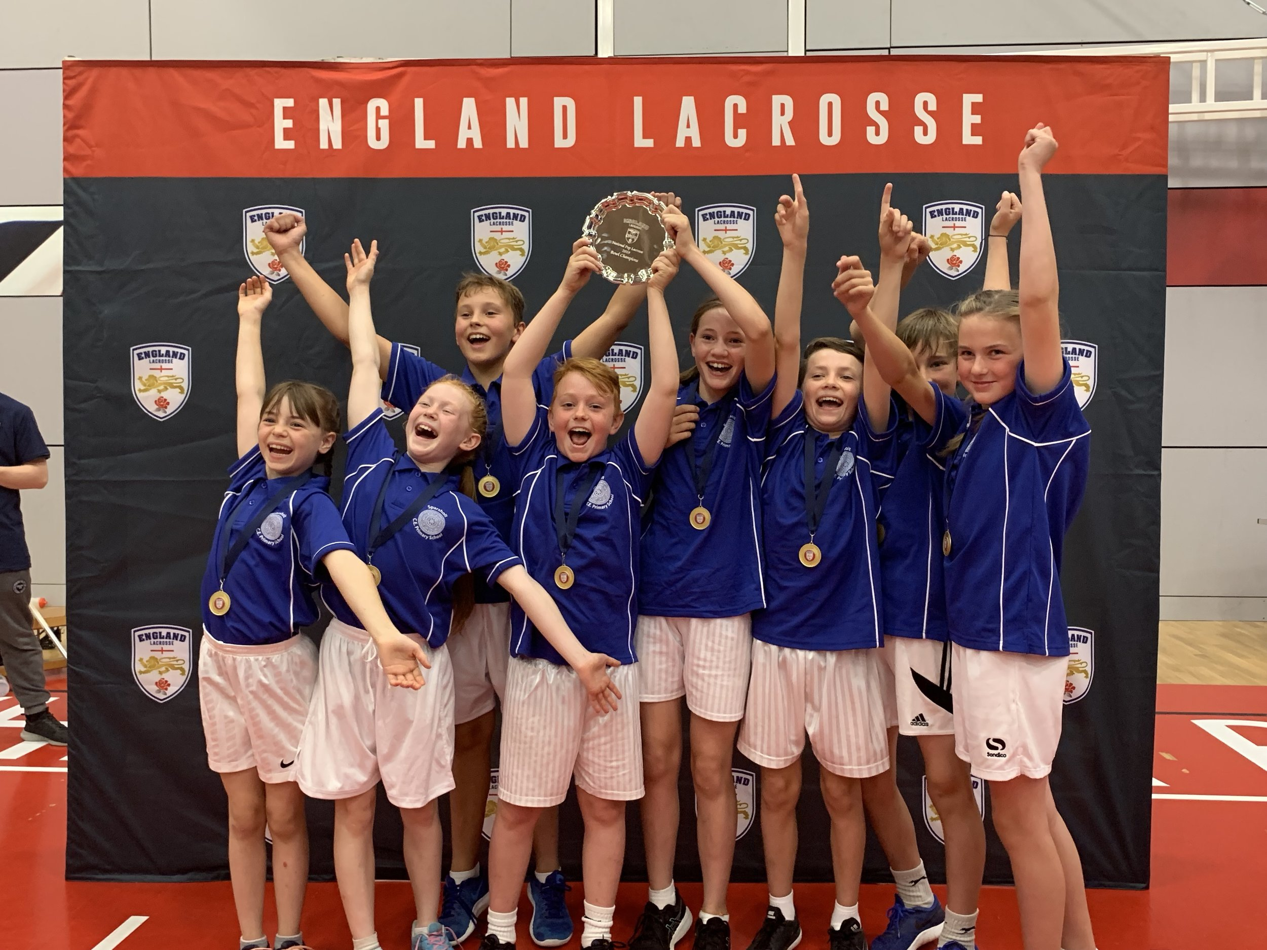 Plate Winners 2019 - Sparsholt Primary School