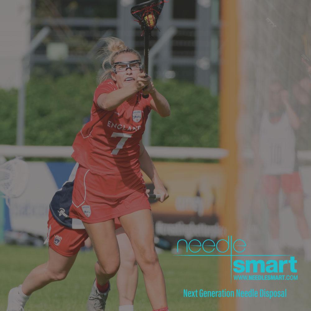 Team England European Lacrosse Championship Sponsor - NeedleSmart