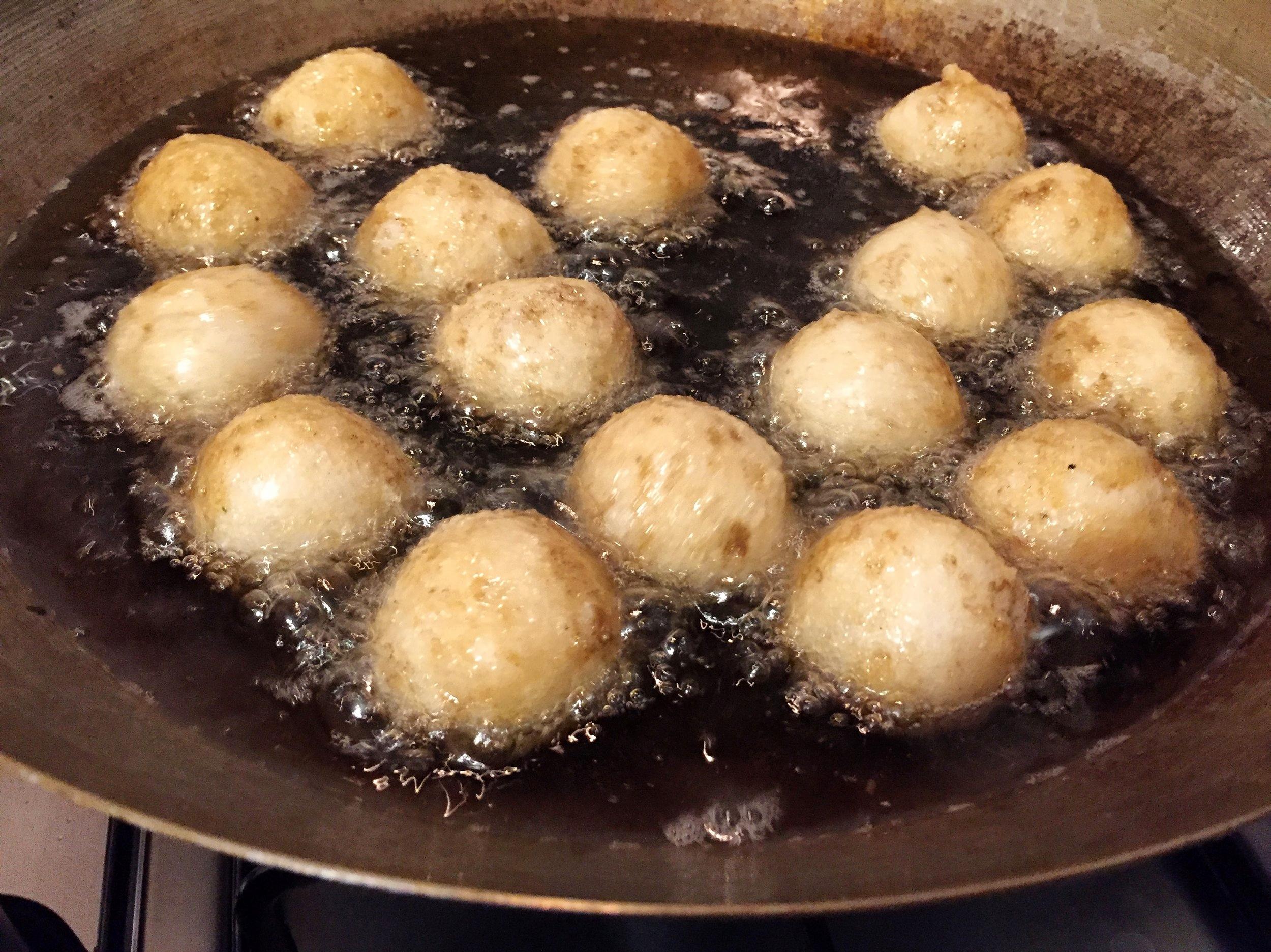 1/3 street food trio:Fish balls