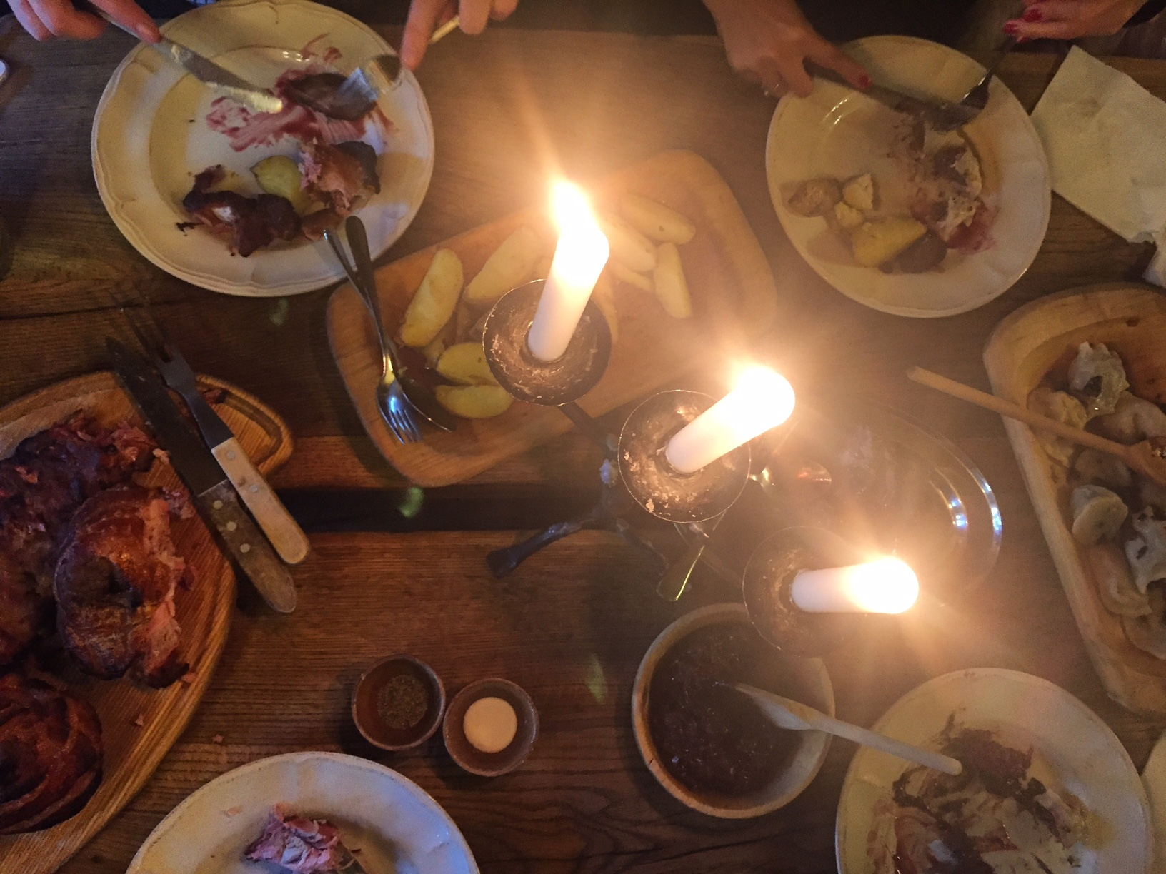 we definitely had a feast, watch out for our full review