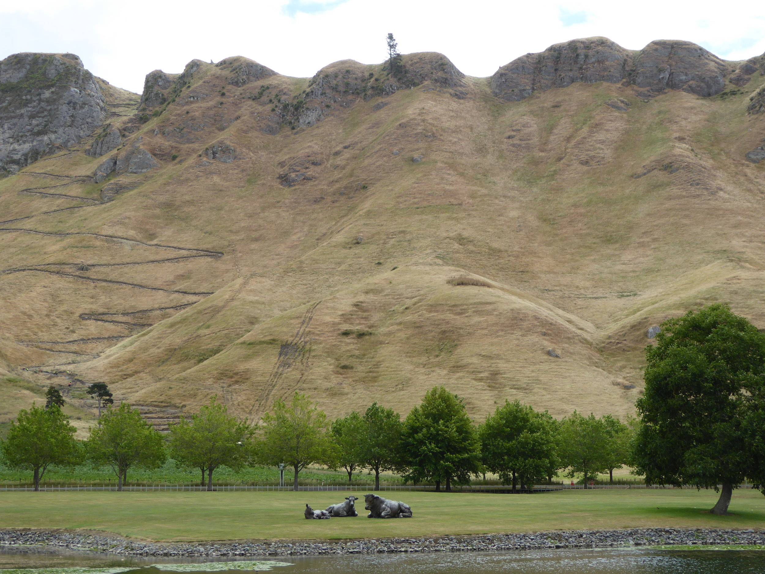 Post card like views of the sacred mountain