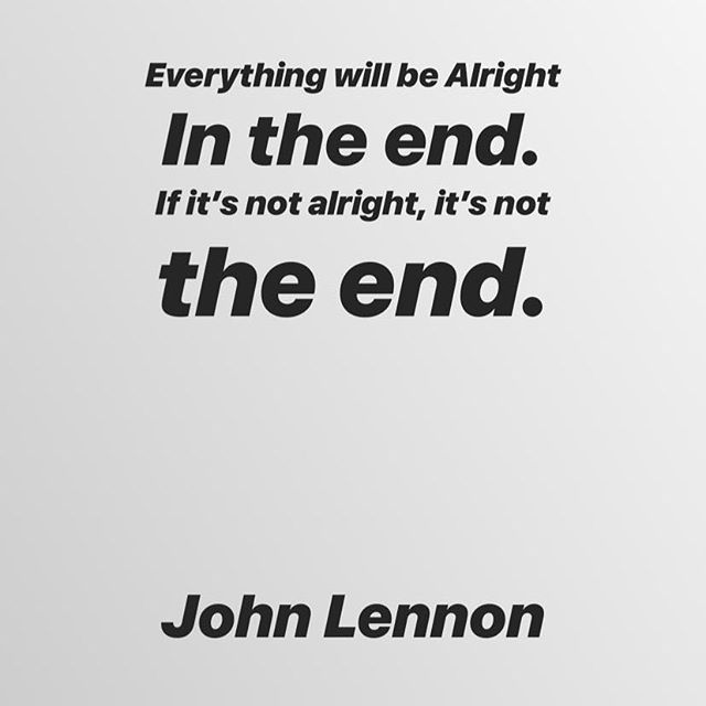 Things are getting deep and meaningful @uprisingrocks HQ  #johnlennon #quotestoliveby #deepandmeaningful