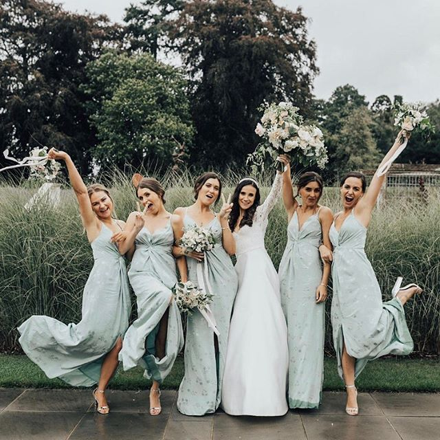 My bride E L L I E and her girls at @coworthpark 💕🌿✌🏼what a gang! . Photo by @rebeccacarpenterphotography . . @beyouweddings . #beyouweddings #beyoubrides #bridegoals #weddingday #bridalhairandmakeupartist #bridalstyle #weddinghairstylist #bridalhairstyle #bridalmakeupartist #bridesmaids #bridesmaidshair #bridesmaiddresses #bride #newlyweds #ukwedding #weddingphotography #kentweddings #londonweddings #bohemian #chic #bohobride  #modernbride