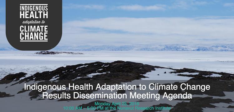 IHACC Iqaluit end of project meeting banner