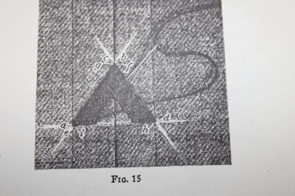 Order of stitching diagram