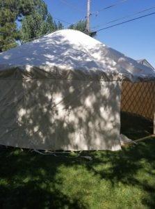 Voila!  A Yurt!