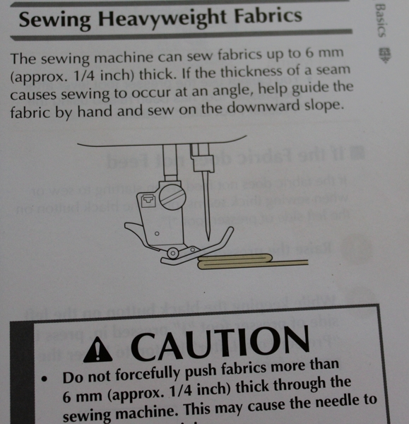 Foot raises to sew at an angle