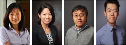 From left to right: Dr. Akiko Iwasaki, Dr. Maria Tokuyama, Dr. Yong Kong, and Eric Song.