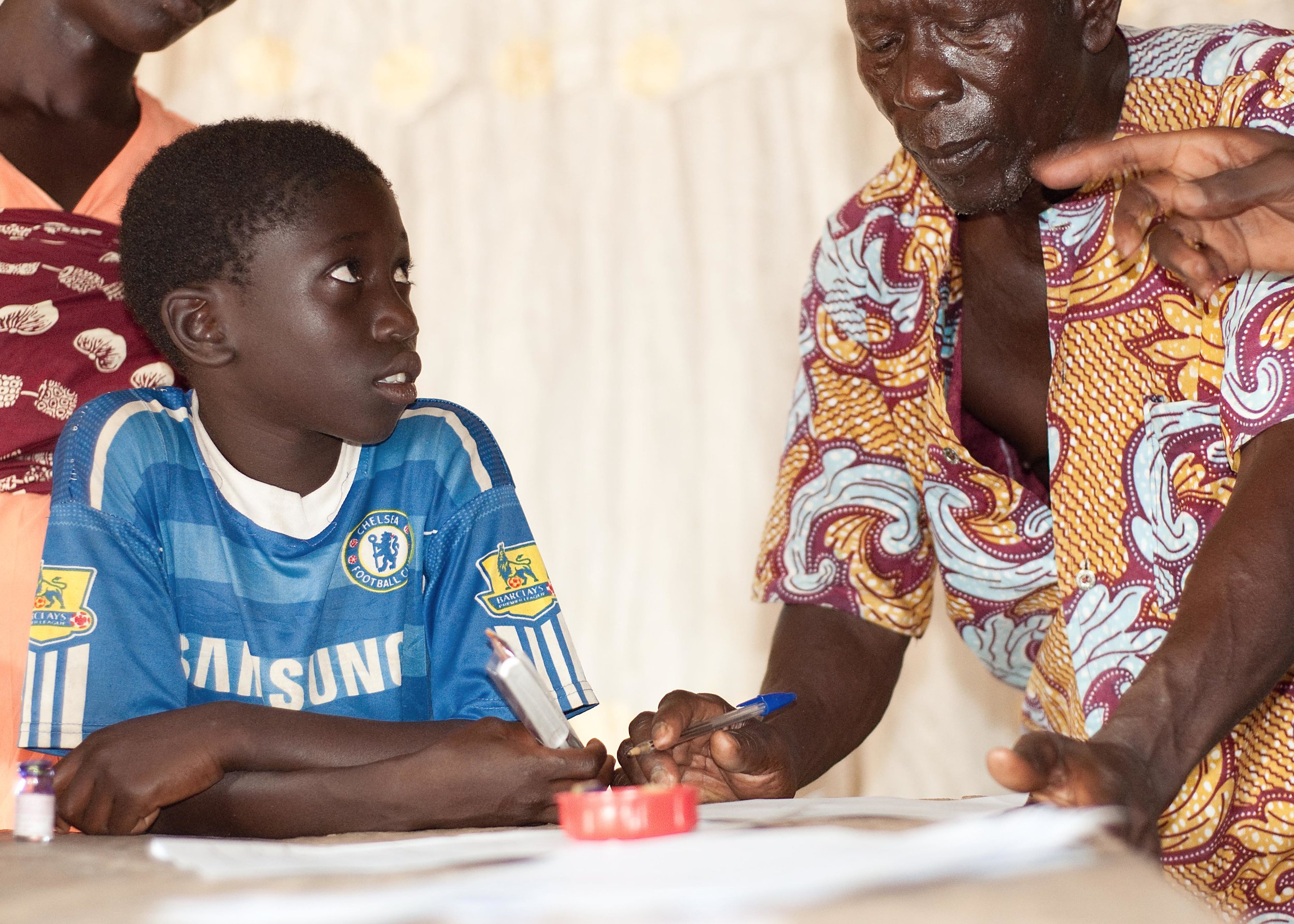 #3: January 2012 - Signed first partnership with village of Adovepke