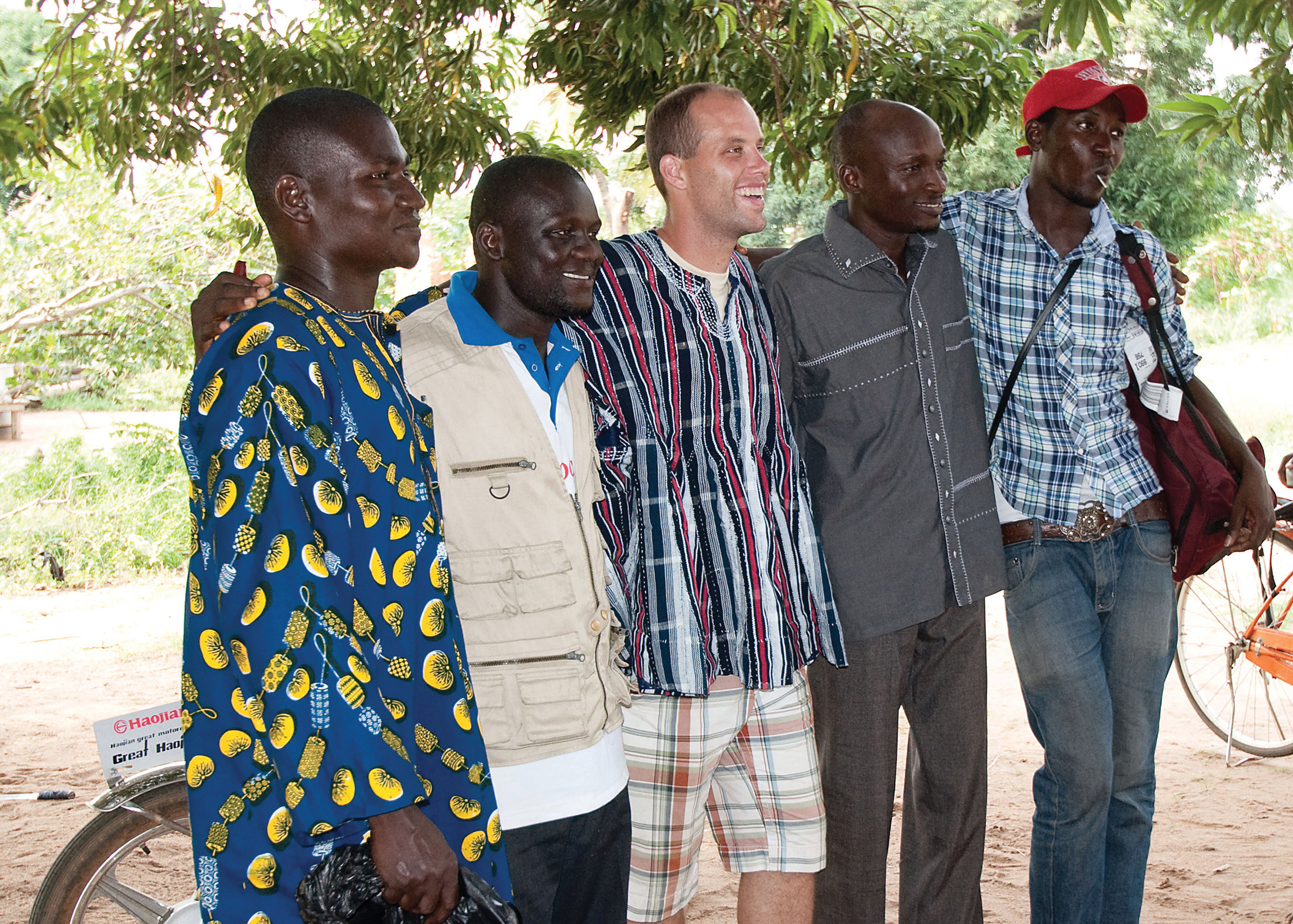 #2: May 2011 - First Ghanaian staff hired
