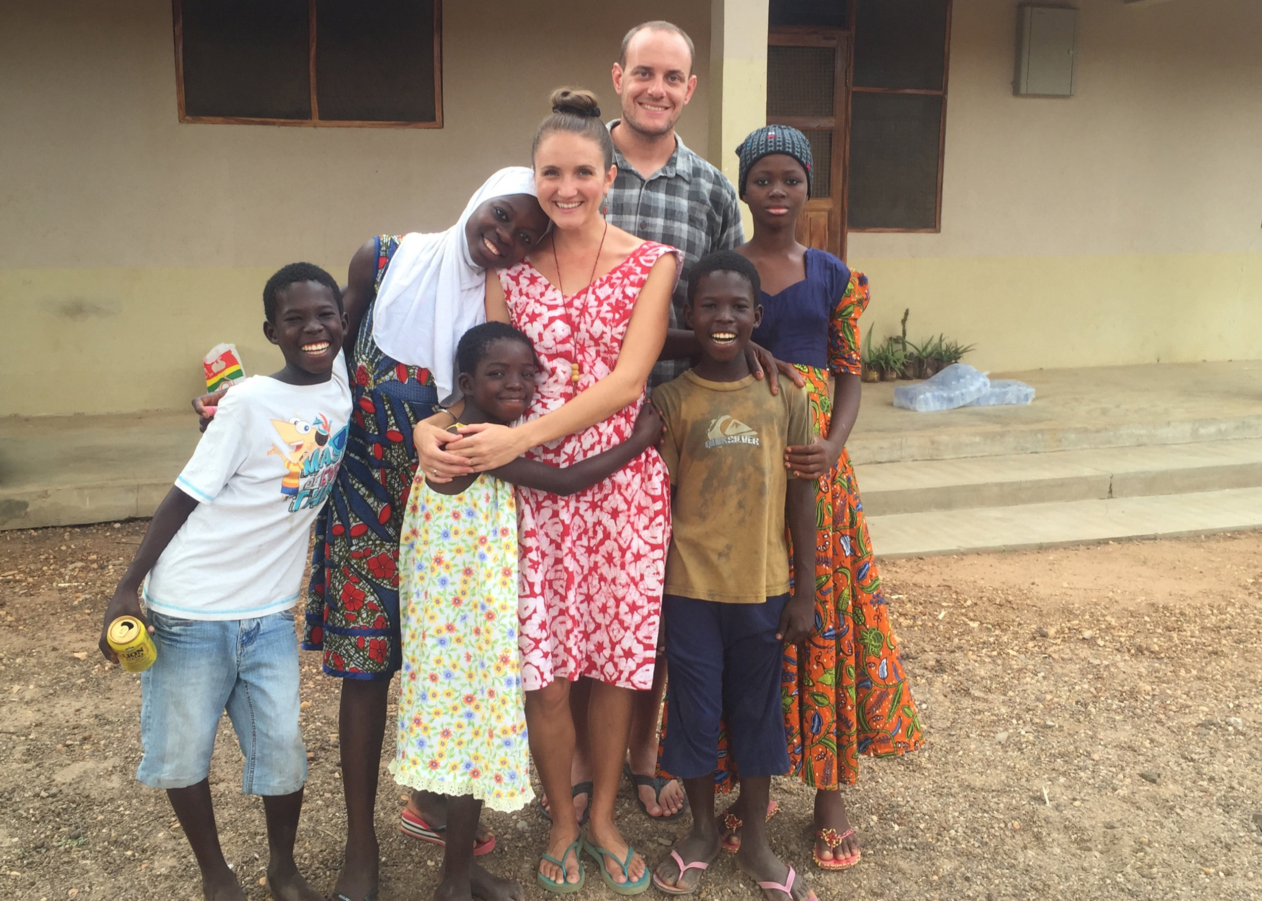 #5: October 2013 - Launched first missionary couple to live in Ghana
