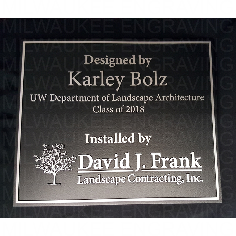 custom laser engraved sign, engraving, engraver