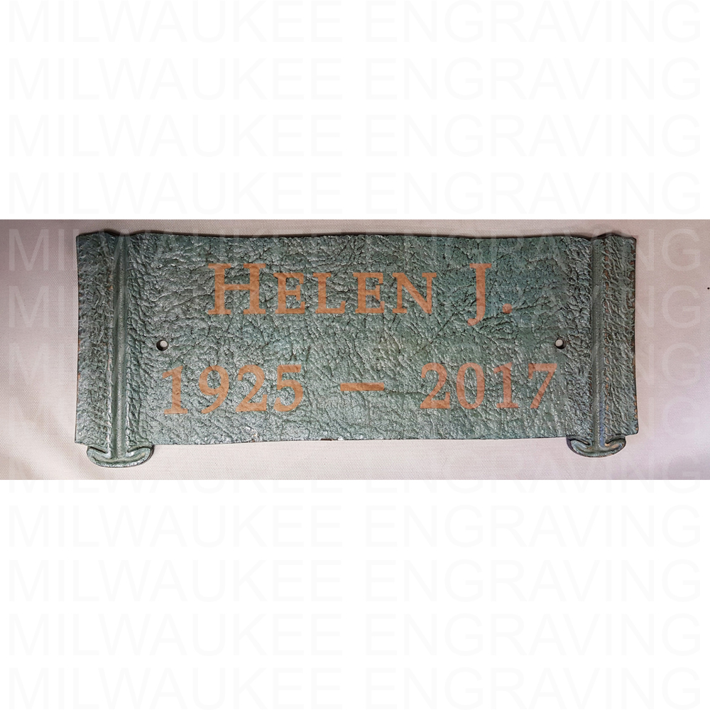 memorial, engraving, custom, personal, local engraver, milwaukee, gifts, memories, signs