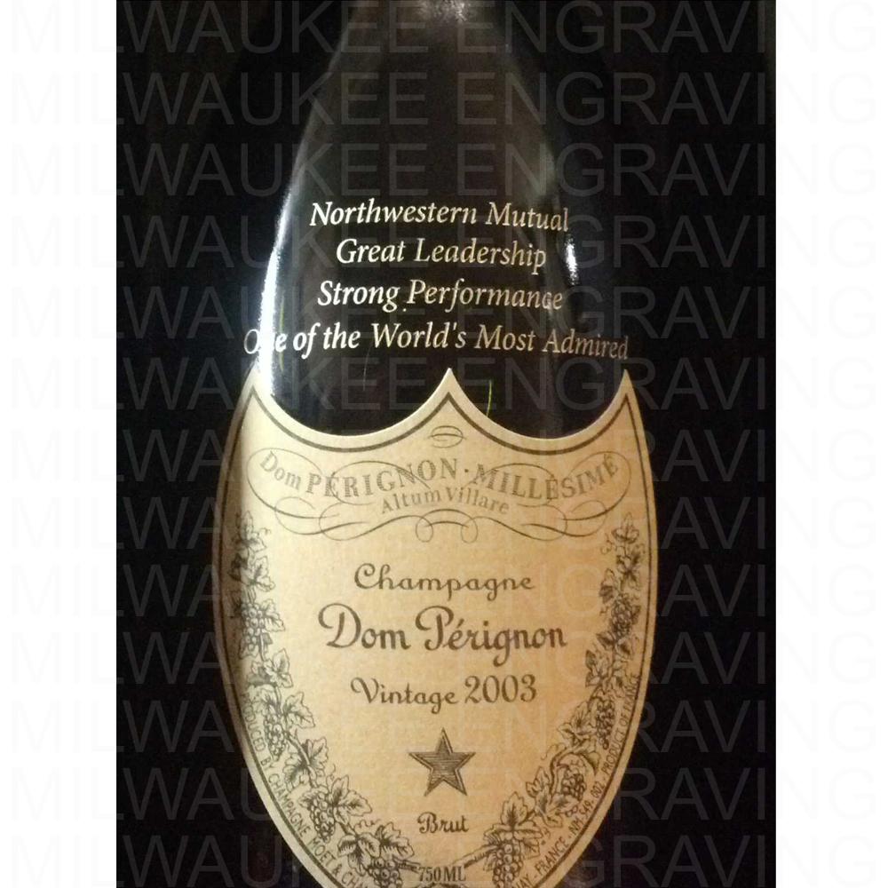 Liquor Bottle Engraved