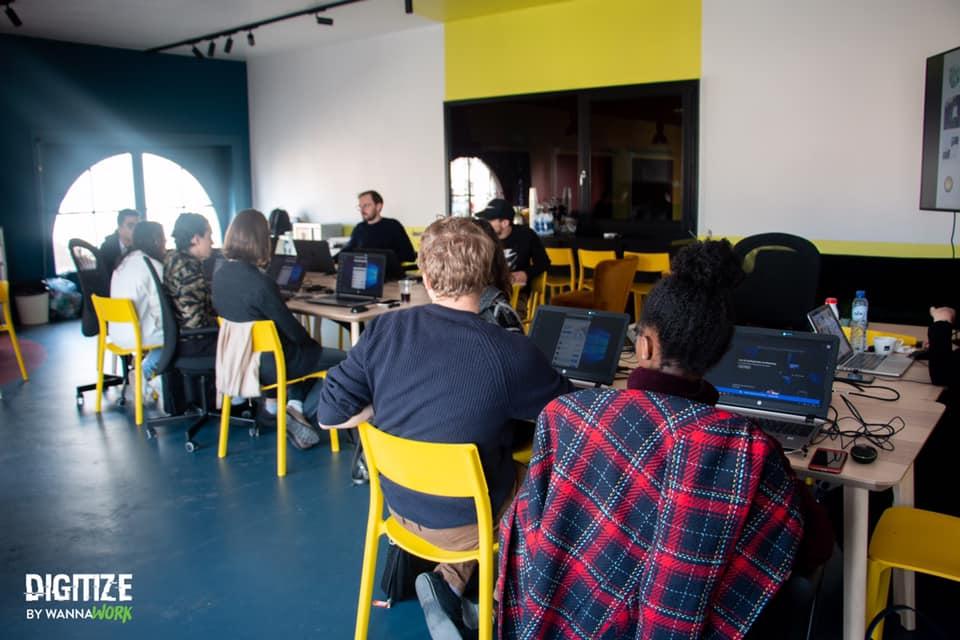 workshop Adobe gegeven voor digitize van wanna work.