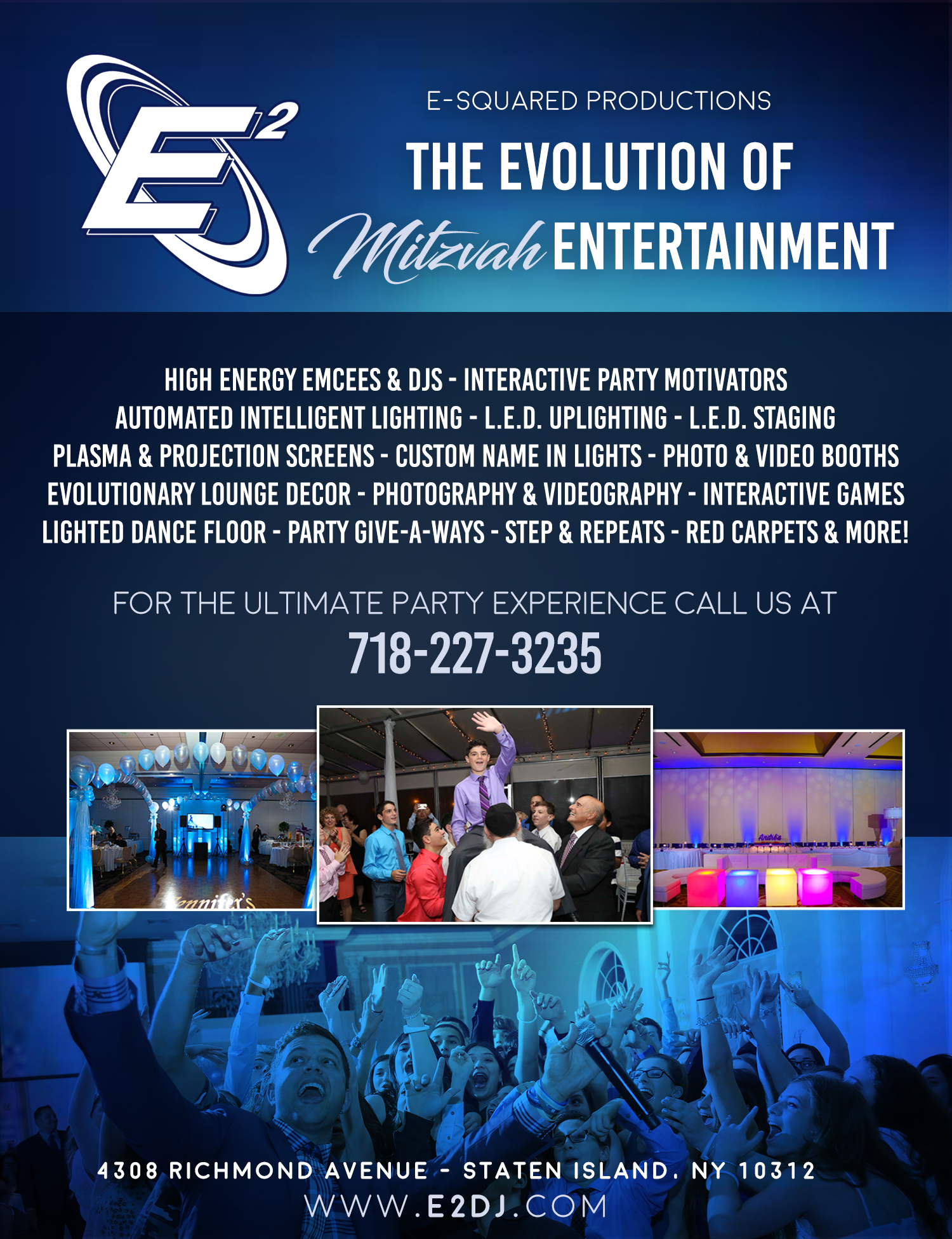 mitzvah entertainment - THE ULTIMATE PARTY EXPERIENCE