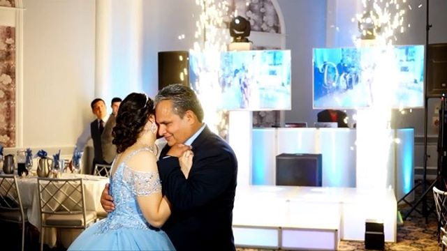 """And a princess she was on her Sweet 16 day! Enjoy Daniella's Sweet 16 DJ Recap. For full HD download go to the 'E2Blog""""on our website - www.E2DJ.com 💙"""
