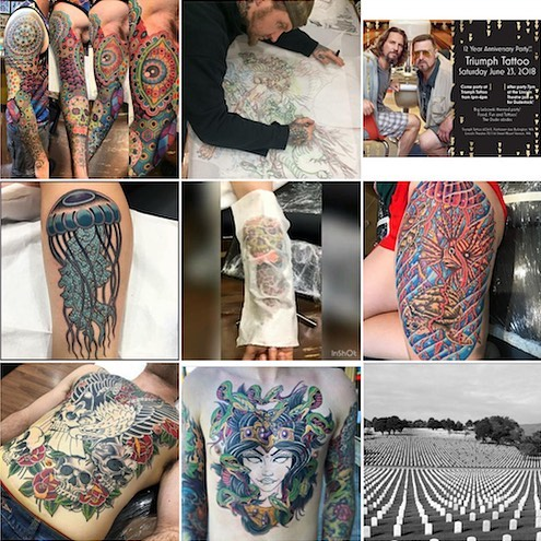 Huge thank you to all of our awesome customers, friends, clients and family for making 2018 a truly wonderful year. We met great people, started cool projects and did loads of fun tattoos. We are so very thankful for everyone who walked through our door in 2018. Here is to a fabulous 2019!! #bestcustomers #nobaddays #theoriginaltriumphtattoo #pnw #skagit #skagitvalley #tattoos
