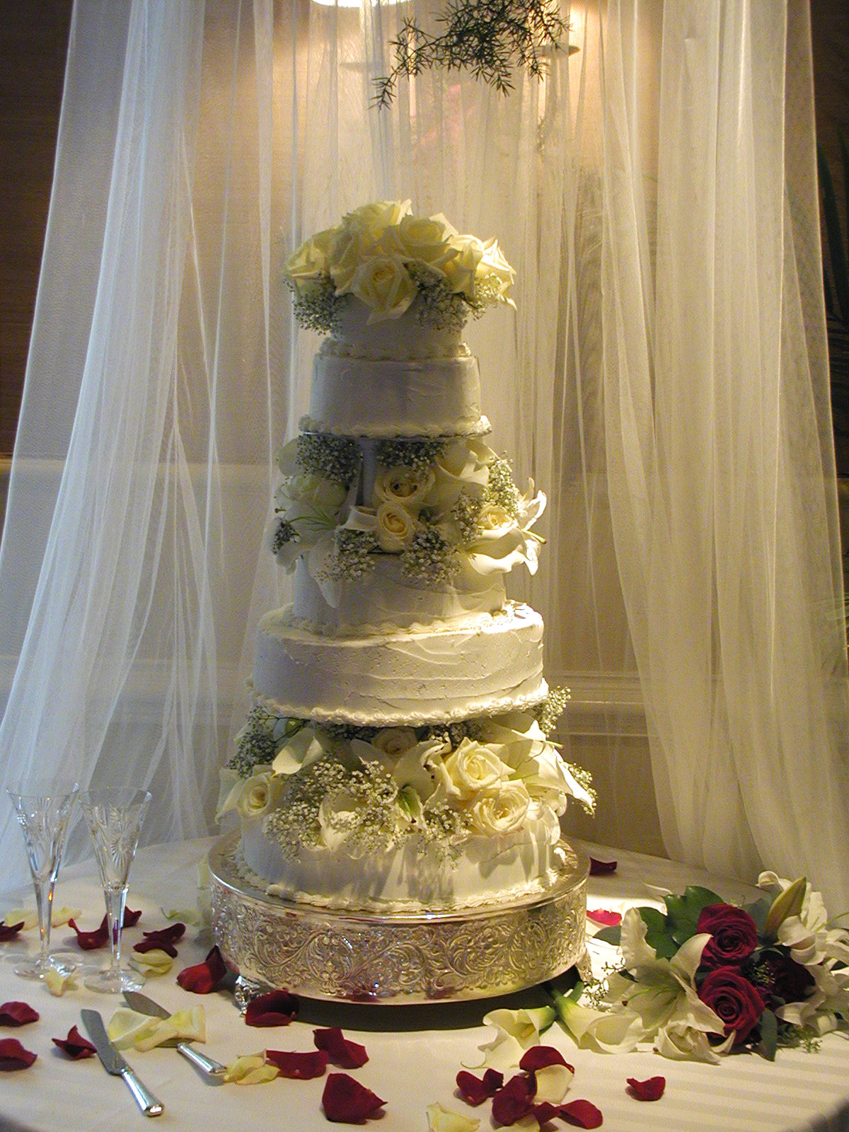 Rebuilt Wedding Cake.JPG